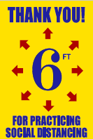 Practice_Social_Distance.png Covid19 posters retail signage Coronovirus posters floor graphics