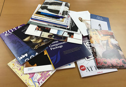 Saddle stitched booklets and books