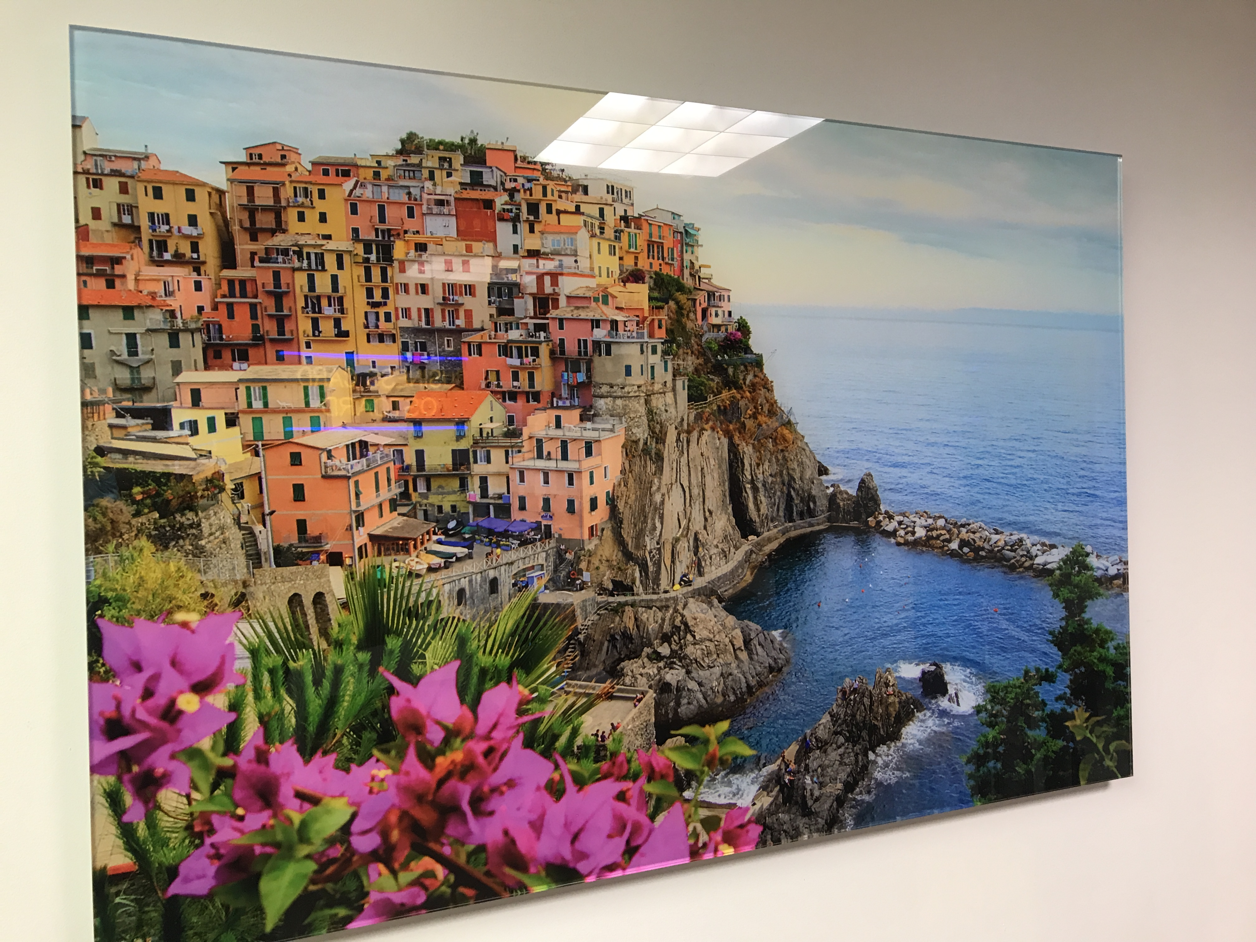 High Gloss Plexi with Giclee photo print