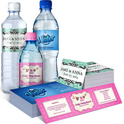 Short run product labels promotional