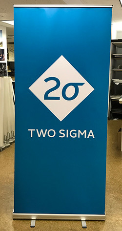 Pop up banner stand printing
