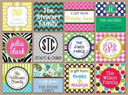 Full Color Gift Card Box Tag