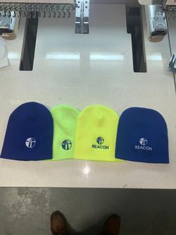 Construction beanies headwear