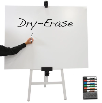 Dry Erase Meeting Poster for Easel