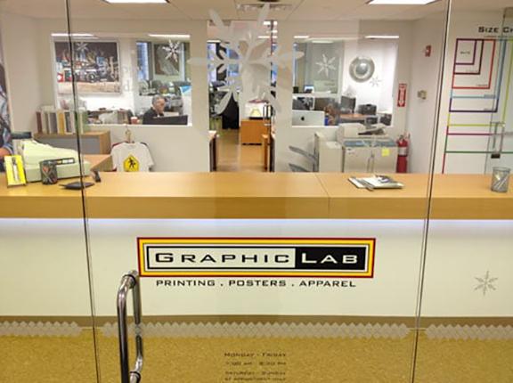 Graphic Lab Printing NYC Entrance Door