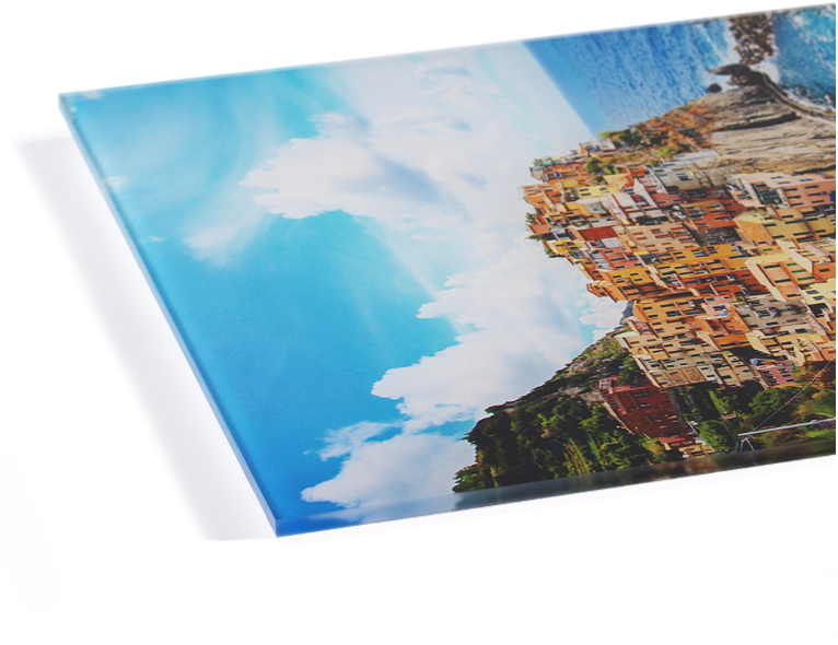 acrylic photo print with back mount
