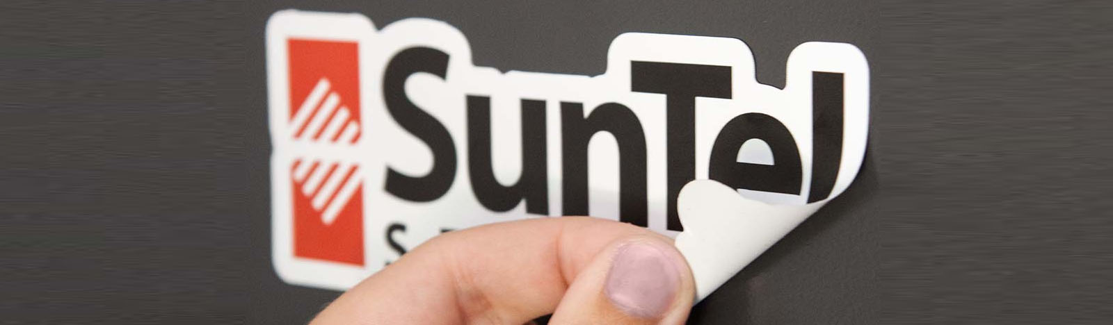 Die-cut removable stickers