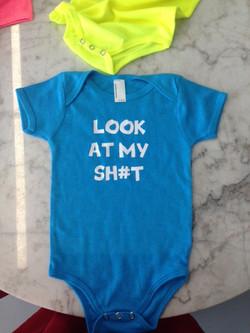 Personalized Baby Onesies printing