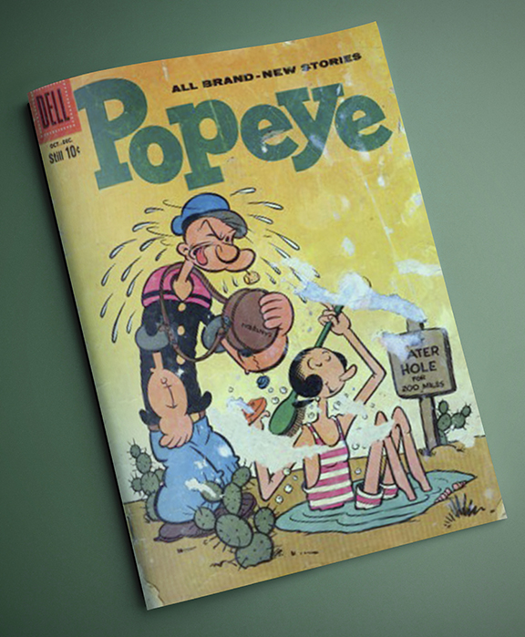 Popeye_comic_book