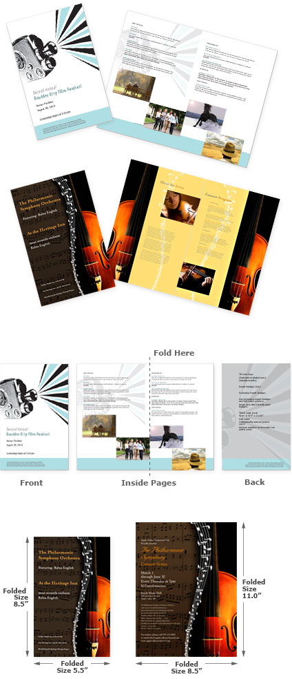 Event Program Printing in NYC