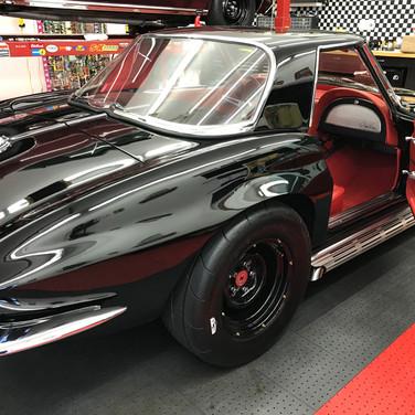 Garage Vette Red Interior