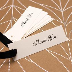 Thank you gift hang tag