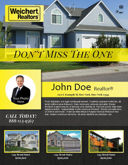 Realtor flyer printing in NYC