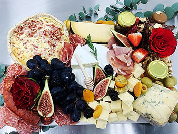 Grazing Platter Board with Cheese and Meats