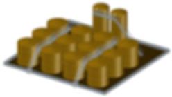 oil tank battery catwalk