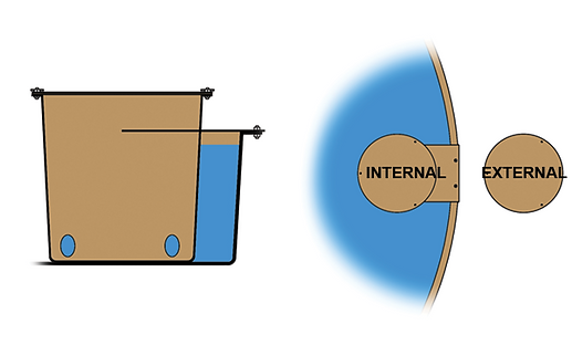 stock tank float box drawing