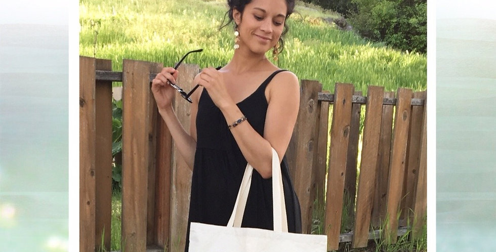 Re-usable Canvas Tote