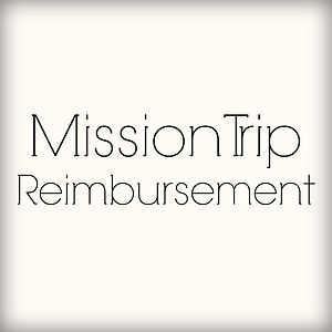 Mission Trip Reimbursement