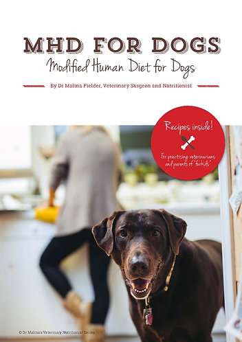 E-BOOK: HMD For Dogs by Dr Malina Fielder