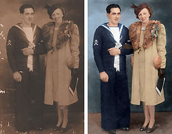 WW2 Naval wedding 2 compare.jpg