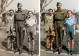 WW2 soldier with boys compare.jpg