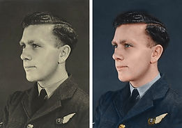 WW2 RAF airman JB