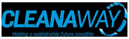 Cleanaway Waste Management Logo with tagline