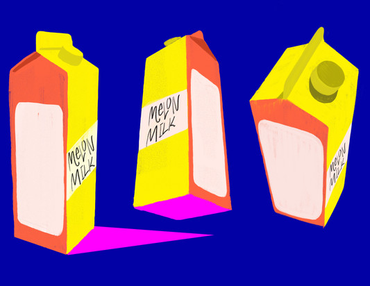 milk carton prop design