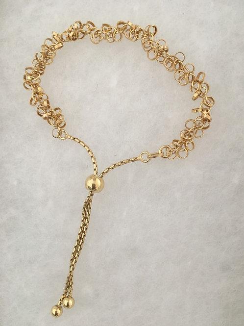 Shimmer Bolo Bracelet