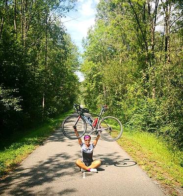 Triathlète vélo