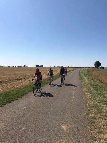Sortie vélo avec Les filles en selle
