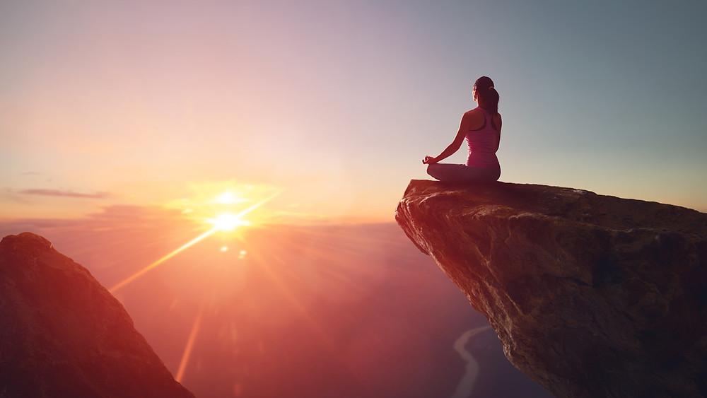 La méditation soulage le stress