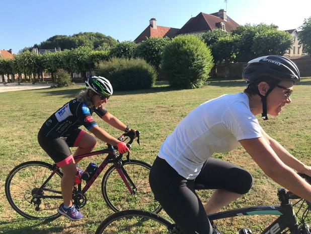 Exercices vélo