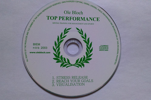 Top Performance CD by Ole Bloch