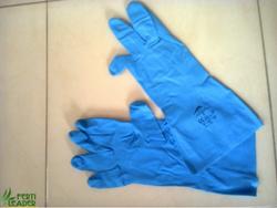 Gants latex (bleu)