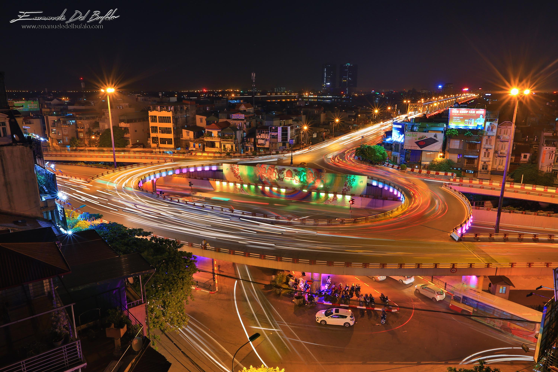 www.emanueledelbufalo.com #asia #vietnam #long_exposure #hanoi #street #city #HDR #night_photography