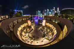 www.emanueledelbufalo.com #singapore #night #cityscape #fisheye #marina