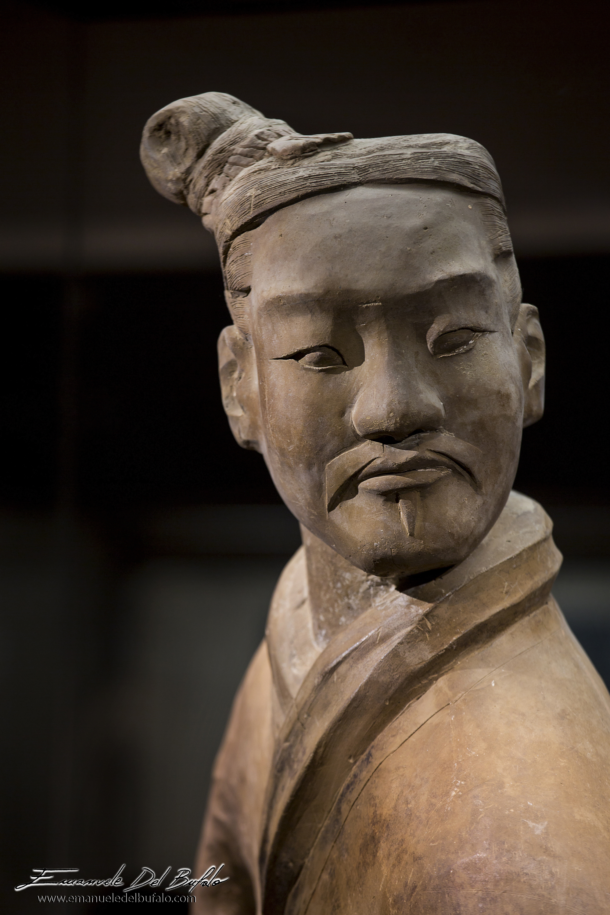 www.emanueledelbufalo.com #china #xian #warrior #statue #terracotta_warriors #portrait #history #une