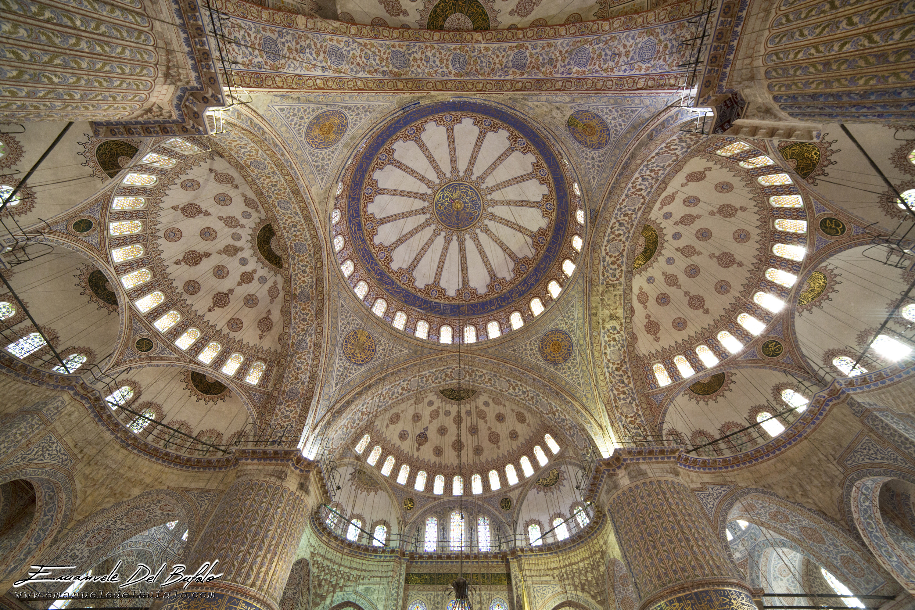 www.emanueledelbufalo.com #istanbul #blue_mosque #fisheye #interior #the long term traveler