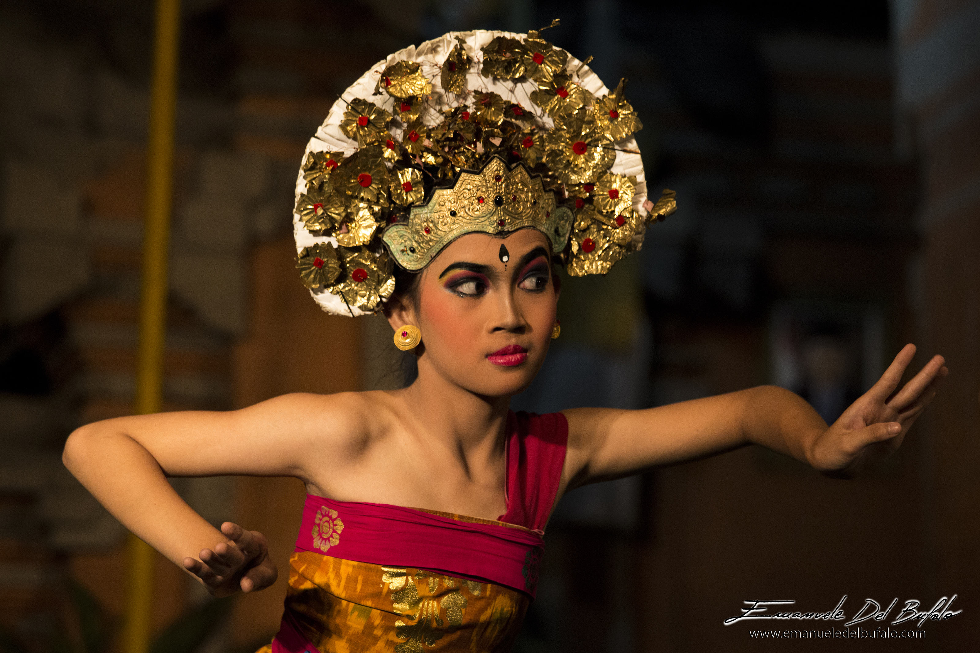 www.emanueledelbufalo.com #asia #bali #indonesia #travel #ubud #dance #tradition #people #portrait