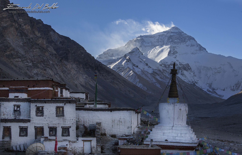www.emanueledelbufalo.com #tibet #everest #basecamp #5300 #altitude #monastery #temple