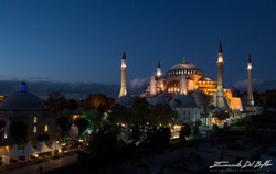 www.emanueledelbufalo.com #istanbul #turkey #hagia_sophia # sunset #night #rooftop #the long term tr