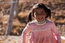www.emanueledelbufalo.com #asia #tibet #girl #smile #village #culture