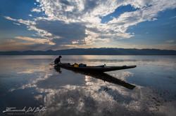 www.emanueledelbufalo.com #myanmar #burma #inle_lake #sunset #fisherman #asia