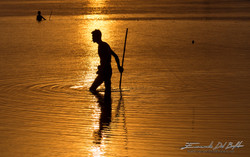 www.emanueledelufalo.com #myanmar #burma #mandalay #amarapura #fisherman #runrise #people