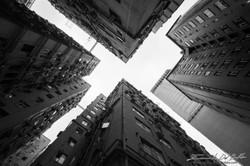 www.emanueledelbufalo.com #asia #hongkong #concrete #building #X #geometry #city #urban #street