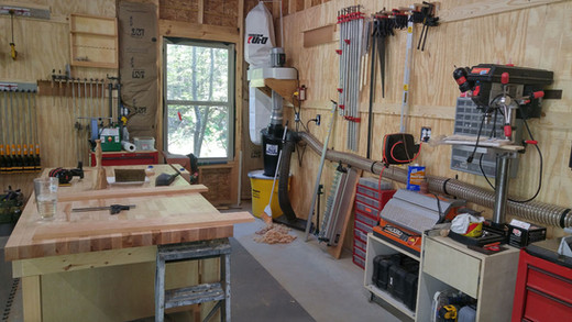 Woodworking Space