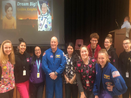 NASA Astronaut Speaks on the Opportunities of Vocational Education at Northeast Metro Tech