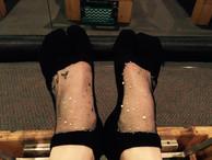 Sparkle Pilates Socks