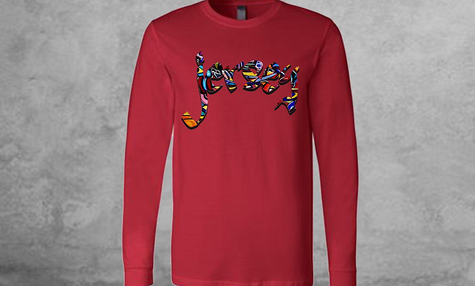 Colorful Jersey Long Sleeve
